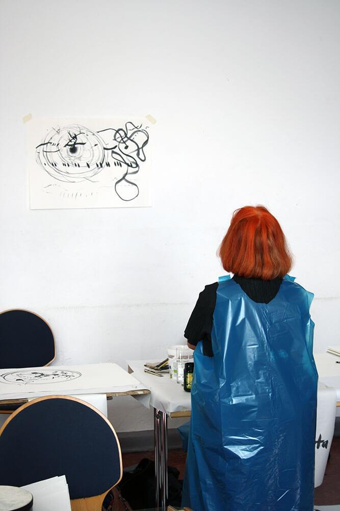 Im.Puls - Seminar - Dock4 - Transfer Zeichnung Musik