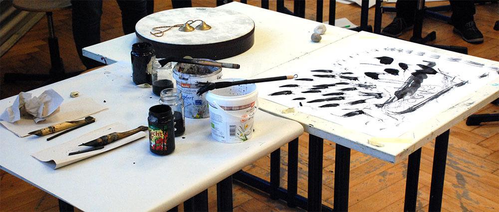 IM.PULS - Seminar - Lehrerfortbildung Tag X - Transfer Zeichnung Musik