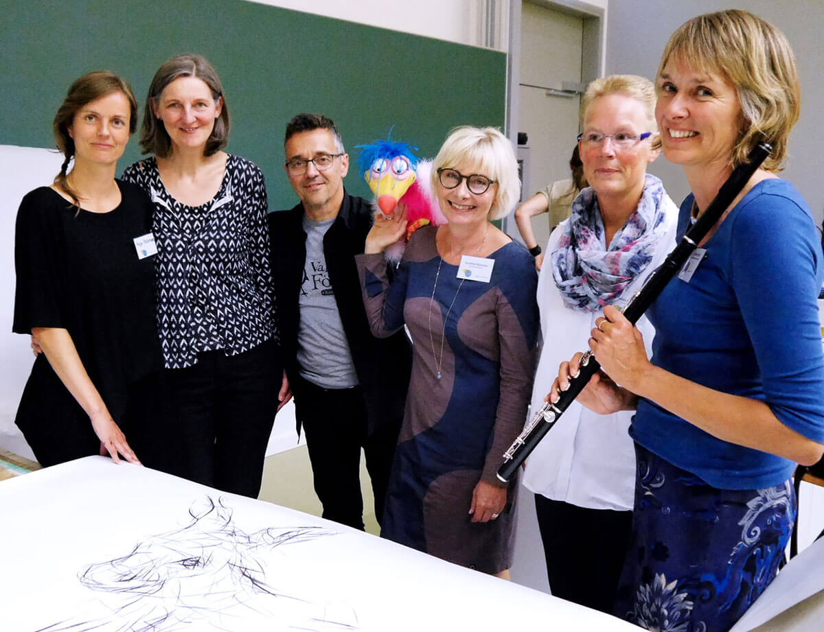 Im.Puls - Seminar Kulturelle Bildung Performance - Uni Kassel - Photo copyright Bettina Wienecke