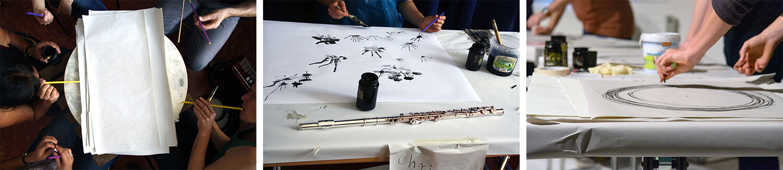 Im.Puls - Seminar - Live Performance Dock4 - Transfer Zeichnung Musik